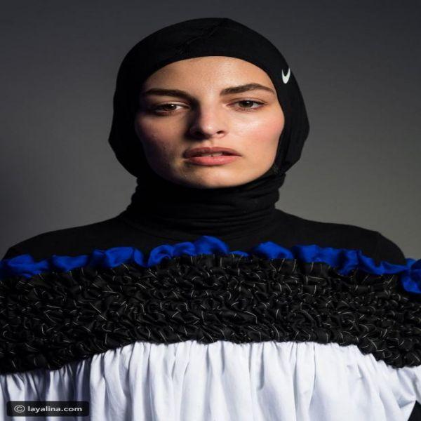 لربيع 2018 حجاب نايكي للمصممة السعوديّة مشاعل الراجحي