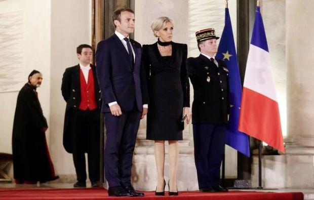 اطلالة بريجيت ماكرون، سيدة فرنسا الأولى