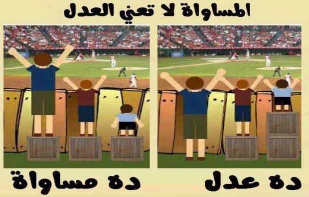 المساواة ظلمَ للرجل